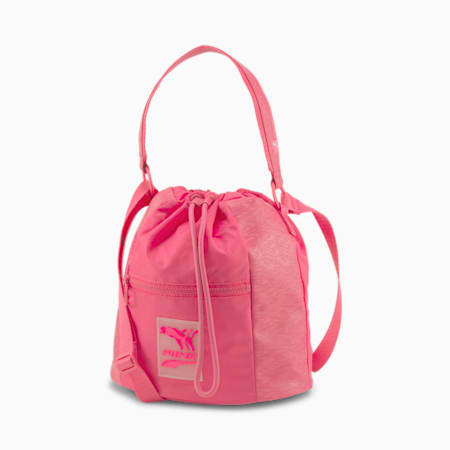 Prime Time Bucket Bag, Glowing Pink, small-SEA