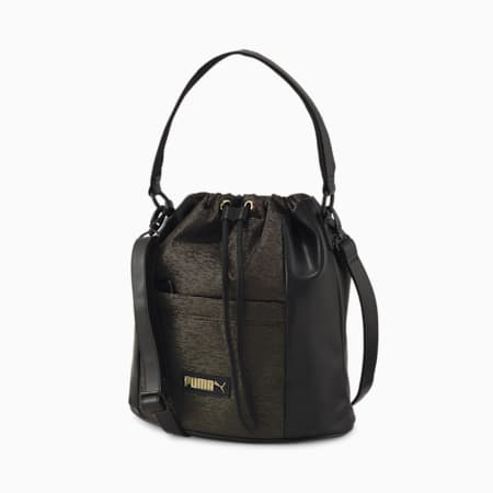 Premium Women's Bucket Bag, Puma Black, small-IND