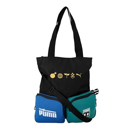PUMA x THE HUNDREDS Convertible Bag, Puma Black, small-IND