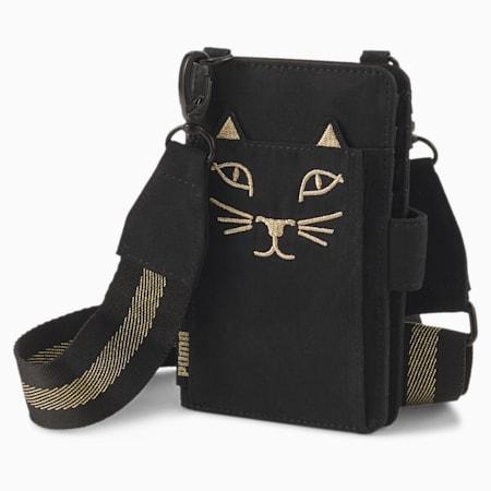Sacoche pour smartphone PUMA x CHARLOTTE OLYMPIA pour femme, Puma Black, small