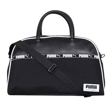 Campus Duffle Bag, Puma Black, small-IND