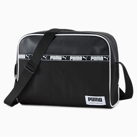 Campus Reporter Bag, Puma Black, small