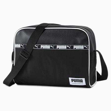Campus Reporter Shoulder Bag, Puma Black, small-IND