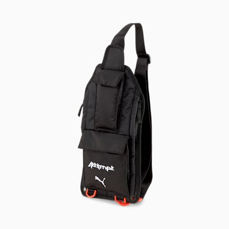 PUMA x ATTEMPT Crossbody Bag, Puma Black, small
