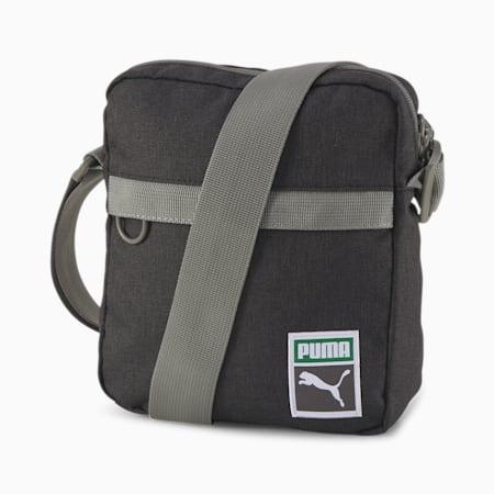 Originals Retro Portable Shoulder Bag, Puma Black-heather, small-IND