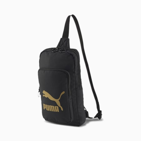 Originals X-Bag, Puma Black-Gold, small-SEA