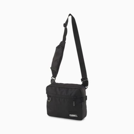 Street Shoulder Bag, Puma Black, small-SEA