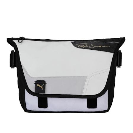 Ralph Sampson Messenger Bag, Puma White-Puma Black, small-IND