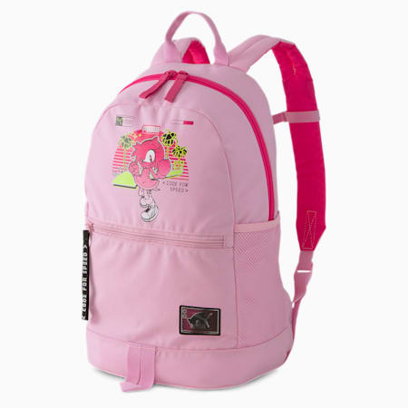 PUMA x SEGA Kids' Backpack, Pale Pink-lilac sachet, small-SEA