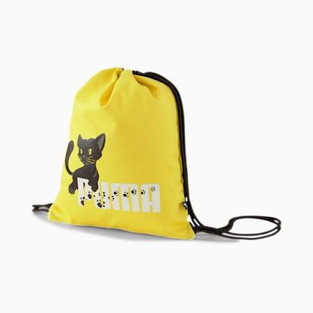 Animal Kids' Gym Sack, Puma Black-Panther, small