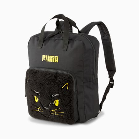 Animals Kids' Backpack, Puma Black-Panther, small