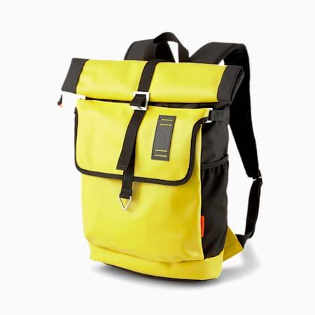 PUMA x CENTRAL SAINT MARTINS Rolltop Backpack, Super Lemon, small