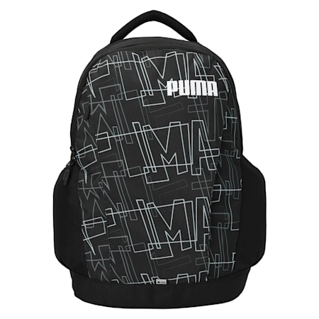 PUMA Hydro Unisex Backpack, Puma Black-CASTLEROCK, small-IND