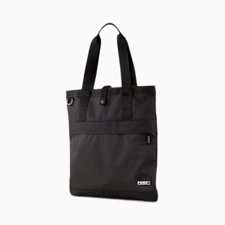 Street Tote Bag, Puma Black, small-SEA