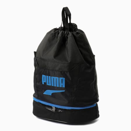 キッズ プーマ 2 ルーム スイムバッグ 3.5L, Puma Black-Puma Royal, small-JPN