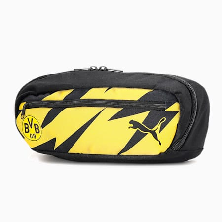 ドルトムント BVB FTBLCORE ウエストバッグ 5l, Puma Black-Cyber Yellow, small-JPN