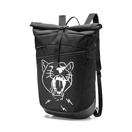 PUMA Basketball Rucksack, Puma Black, small