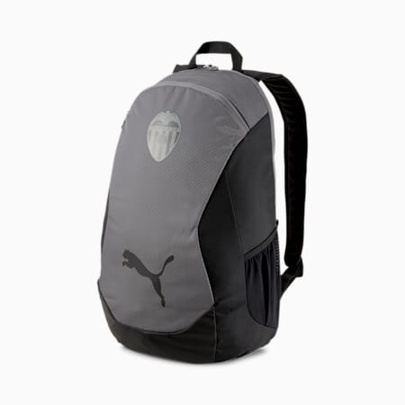 Valencia CF FINAL Football Backpack, Puma Black-Smoked Pearl, small