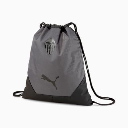 Valencia CF FINAL Football Gym Sack, Puma Black-Smoked Pearl, small