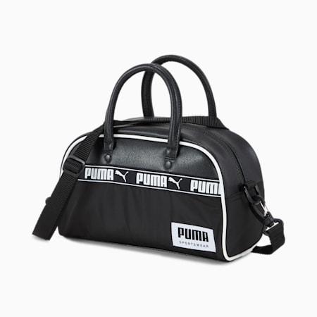Campus Mini Grip Shoulder Bag, Puma Black, small-IND