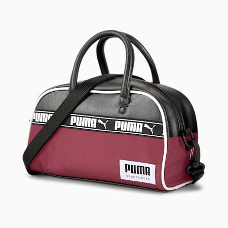 Campus Mini Grip Shoulder Bag, Zinfandel-Puma Black, small-IND