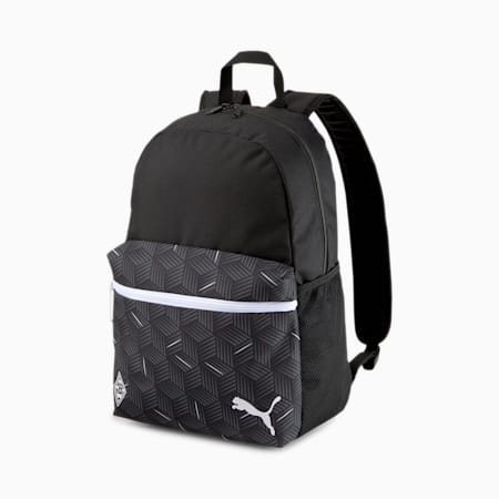 Borussia Mönchengladbach ftblCORE Football Backpack, Puma Black-Puma White, small