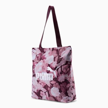 Core Women's Shopper, Vineyard Wine - Floral AOP, small