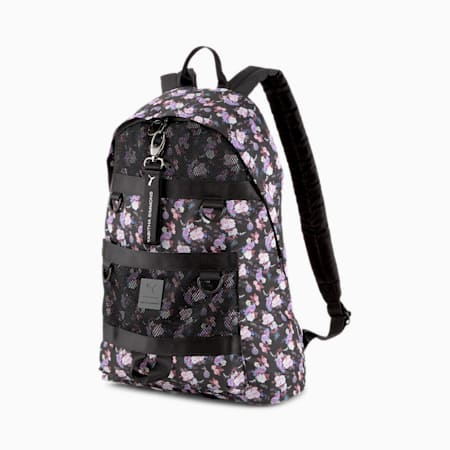PUMA x TABITHA SIMMONS Backpack, Puma Black-AOP, small