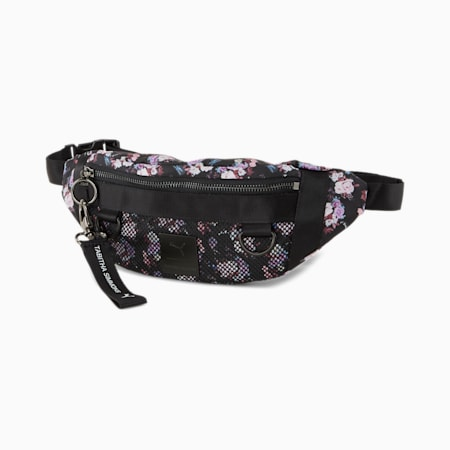 PUMA x TABITHA SIMMONS Waist Bag, Puma Black-AOP, small-SEA