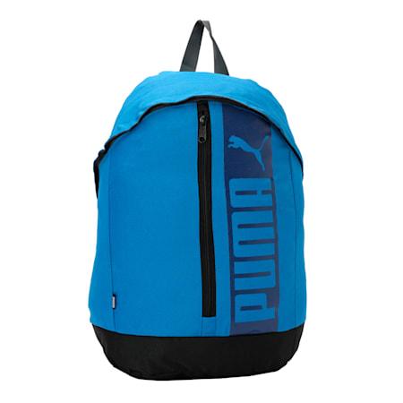 PUMA Pioneer Backpack II, Electric Blue Lemonade, small-IND