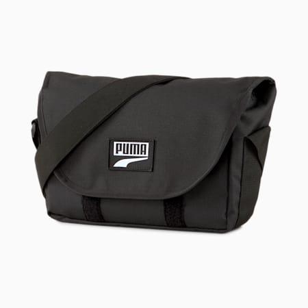 プーマ デッキ ミニ メッセンジャー ショルダー バッグ 4L, Puma Black, small-JPN
