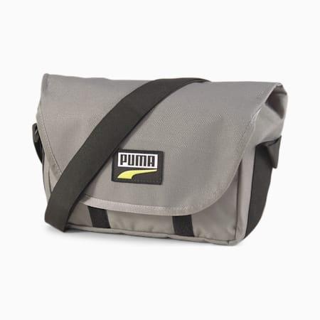 PUMA Deck Mini Messenger Bag, Ultra Gray, small