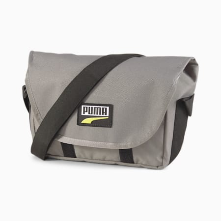 Deck Mini Messenger Bag, Ultra Gray, small-SEA