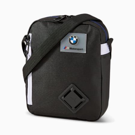 BMW M Motorsport LS Portable Bag, Puma Black, small