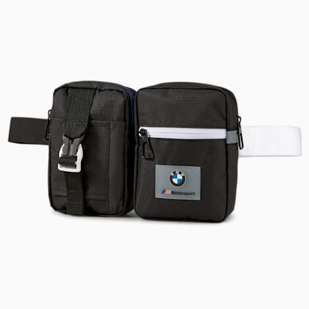 BMW M Motorsport Utility Bag, Puma Black, small