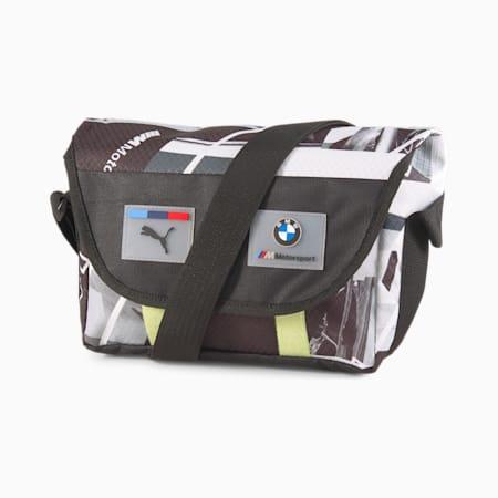 BMW M Motorsport Street Mini Messenger Bag, Puma Black, small-GBR
