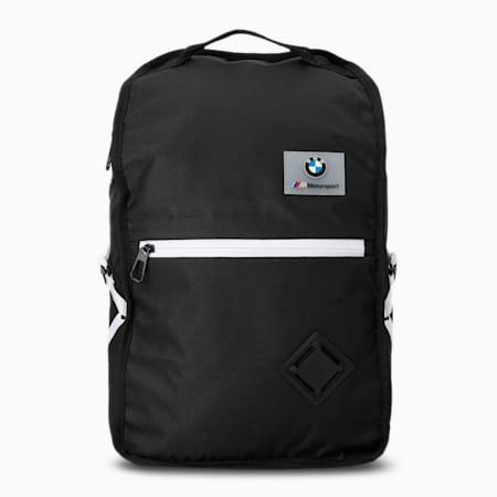 BMW M Motorsport Backpack, Puma Black, small-IND