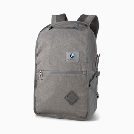 BMW M Motorsport Backpack, Medium Gray Heather, small