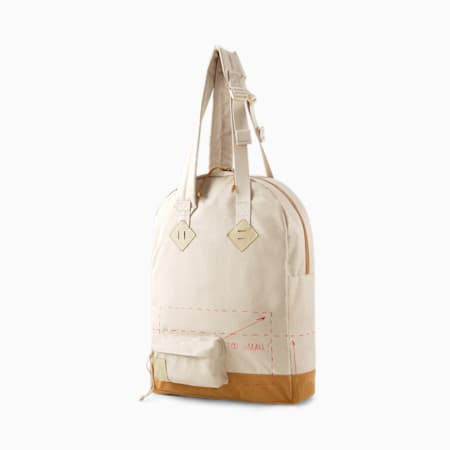 PUMA x MICHAEL LAU Tote Bag, Safari-Chipmunk, small-GBR