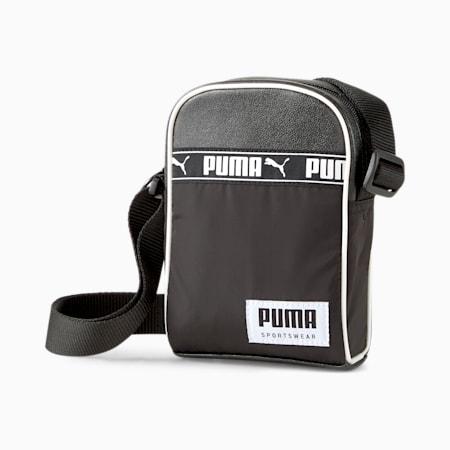 Campus Compact Portable Bag, Puma Black, small-IND