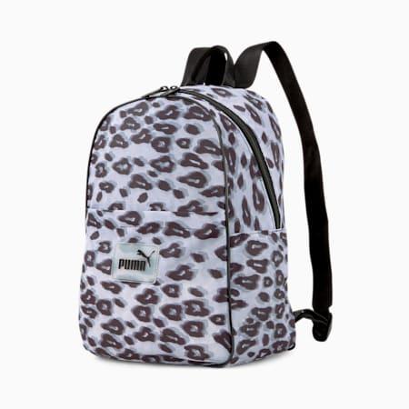 Pop Women's Backpack, Puma Black-animal graphic, small-GBR