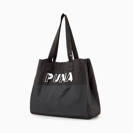 Women's Large Shopper, Puma Black, small-IND