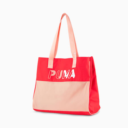 Women's Large Shopper, Poppy Red, small-IND
