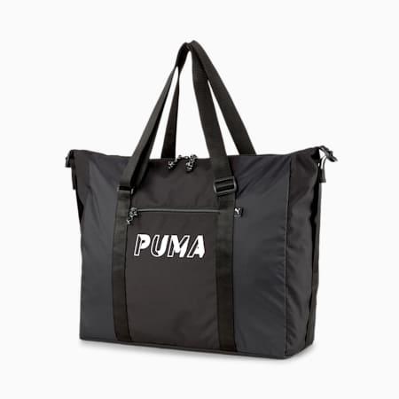 코어 베이스 더플 백/Core Base Duffle Bag, Puma Black, small-KOR