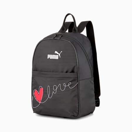 PUMA Womens' Valentine's Backpack Core, Puma Black, small