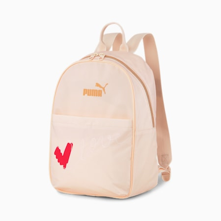 Women's Valentine's Backpack, Cloud Pink, small-IND