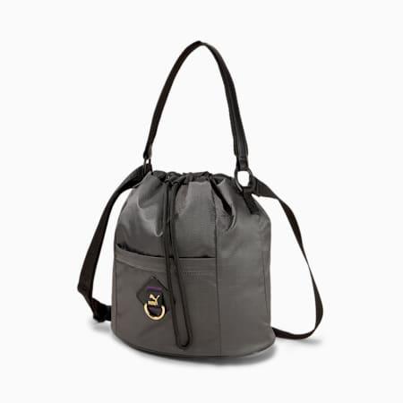 Prime Time Bucket Bag, Puma Black-iridescent, small