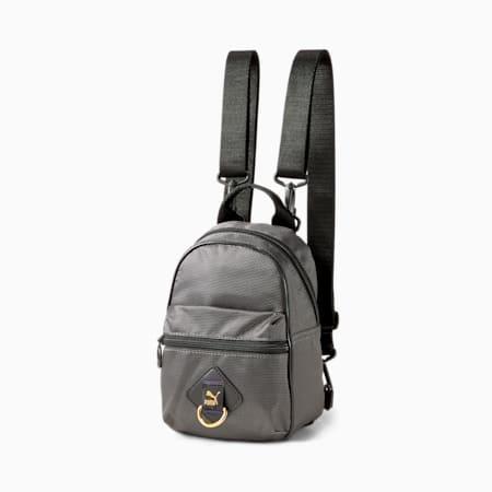 Time Minime Women's Backpack, Puma Black-iridescent, small