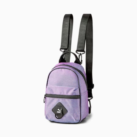 Time Minime Women's Backpack, Light Lavender-Iridescent, small-SEA