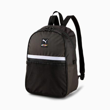 Women's Street Backpack, Puma Black, small-SEA
